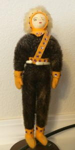 """Eskimo"" doll from late 1960s"