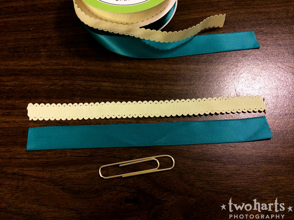 ribbons for altered paperclips